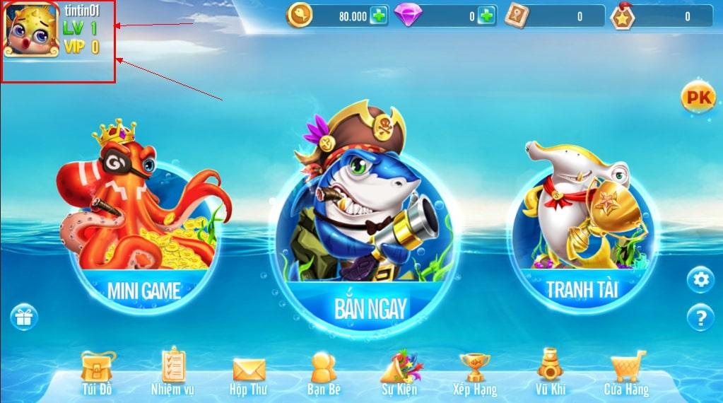Game có nhiều phần thưởng lớn dành cho người chơi