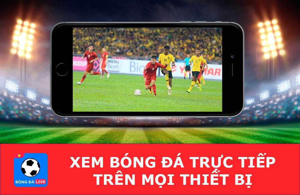 Có thể xem live bóng đá trên mọi thiết bị kết nối internet