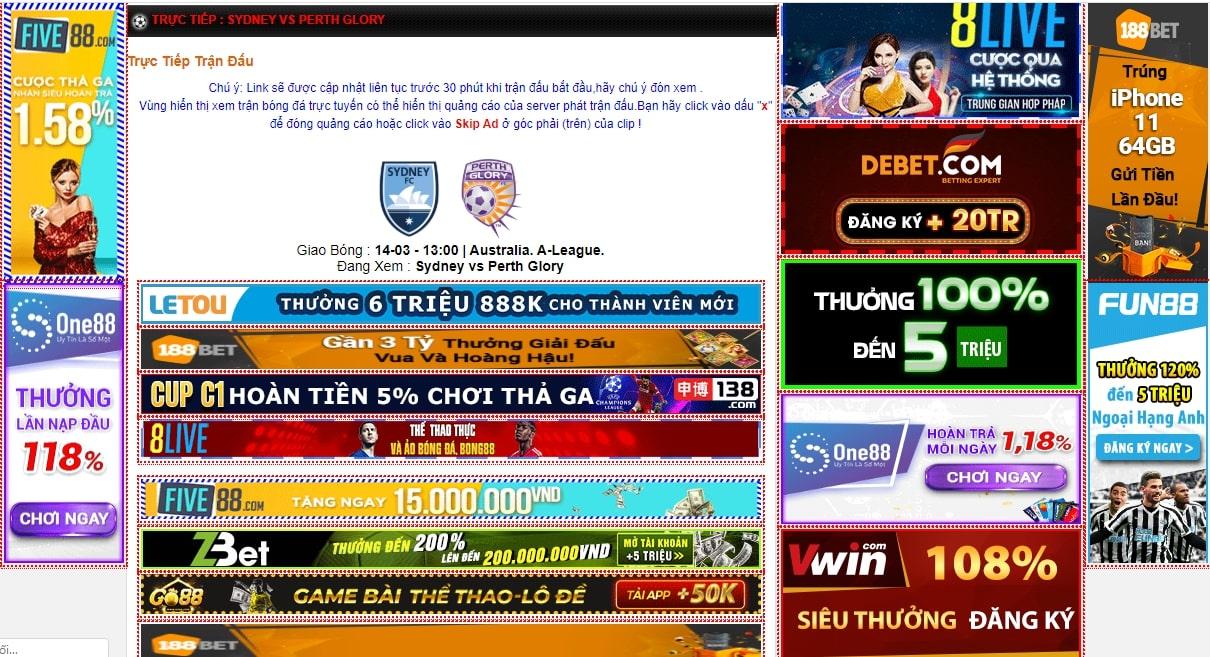 Xem các trận đấu bóng trực tuyến hấp dẫn trên website
