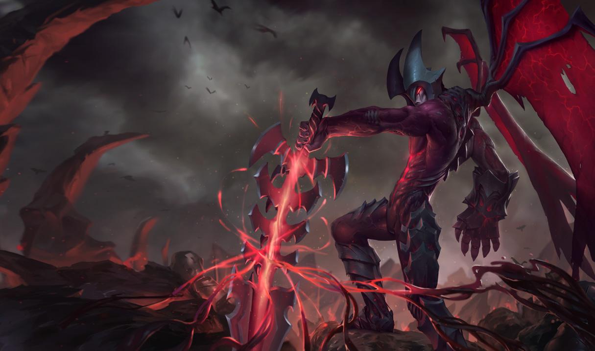 Aatrox là Quỷ kiếm siêu mạnh và nguy hiểm