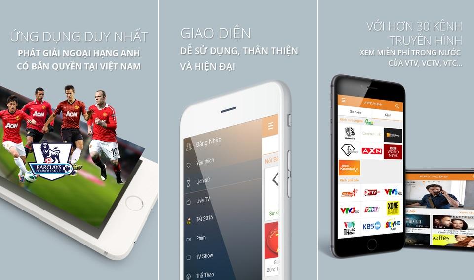 Người xem có thể theo dõi trận đấu qua smartphone