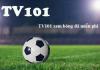 TV 101 hình thành đã một thời gian, mang đến nhiều lợi ích cho người yêu bóng đá