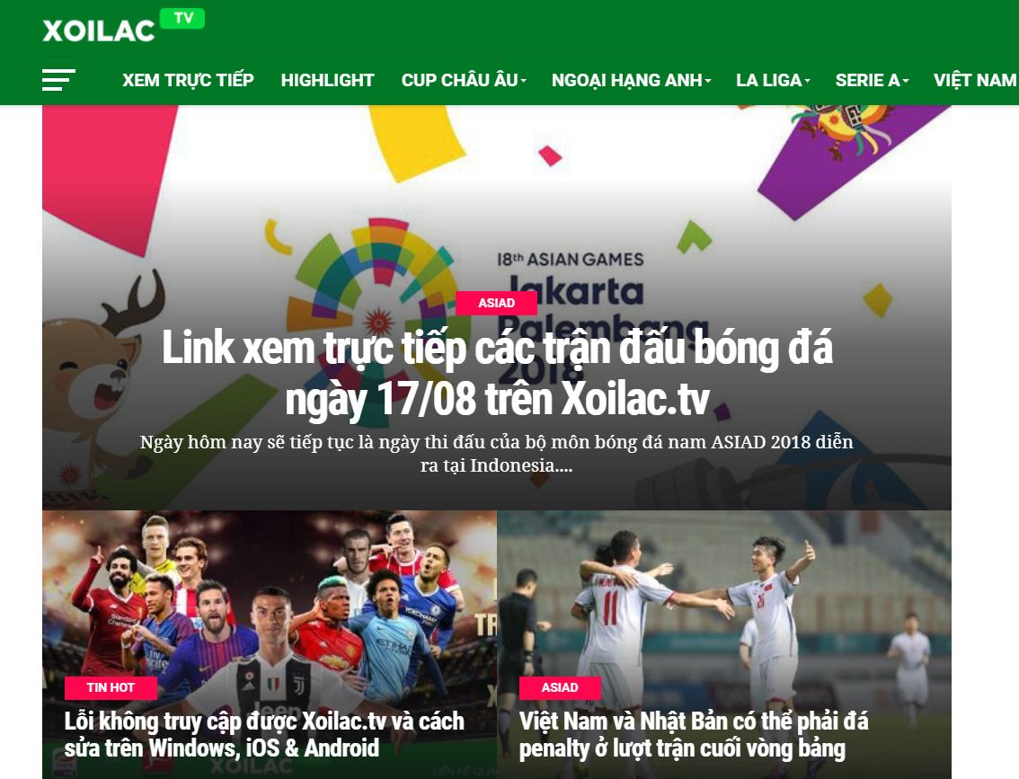 Xoilac-Tivi thu hút đông đảo lượng truy cập mỗi ngày