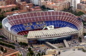 Ngắm nhìn sân vận động Camp Nou từ trên cao