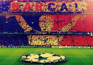 Fan hâm mộ luôn ủng hộ Barca trong mọi trận đấu