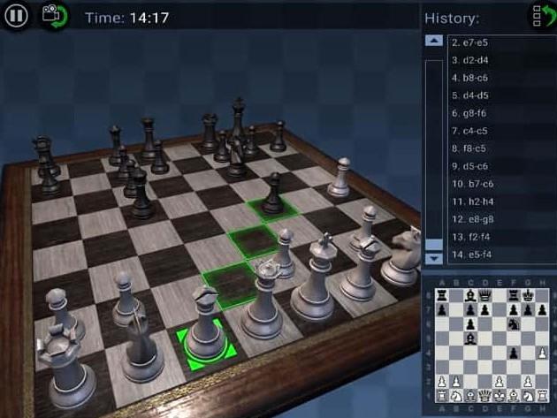 Game cờ vua 3D online thu hút đông đảo người tham gia