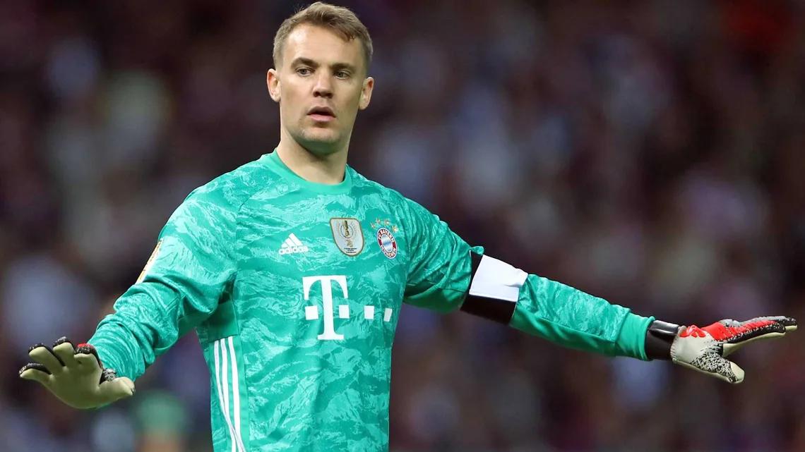 Thủ môn Manuel Neuer hàng đầu thế giới