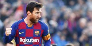 Chàng tiền đạo huyền thoại Lionel Messi