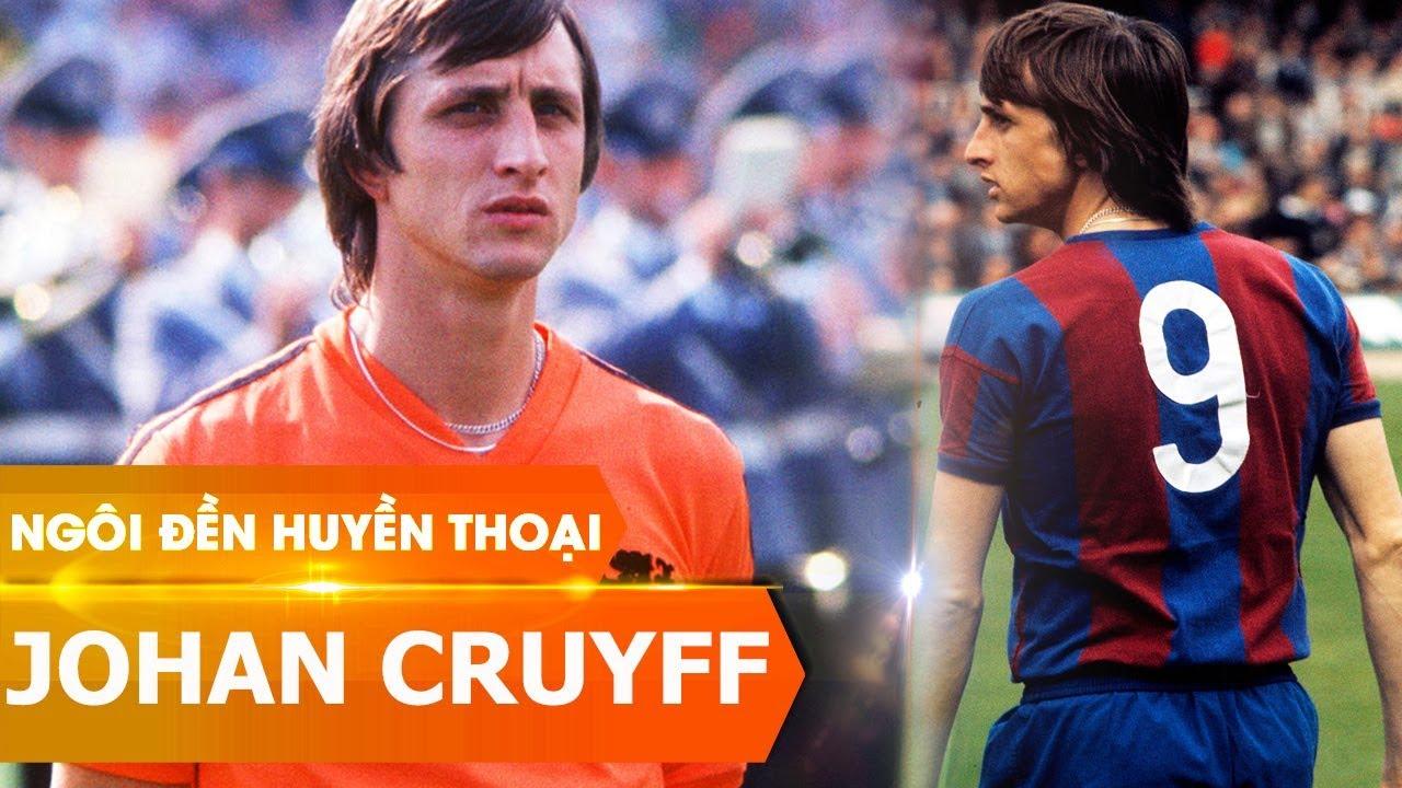 """""""Thánh"""" Johan Cruyff - Huyền thoại bóng đá"""