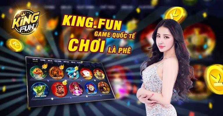 King.fun - Cổng game hàng đầu không thể bỏ qua