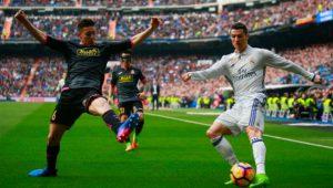 Ronaldo rất thường xuyên thực hiện kỹ thuật Elastico