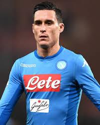 Đội hình Napoli có sự góp mặt của Jose Maria Callejon