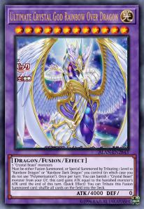 Ultimate Crystal God Rainbow Over Dragon - Một trong những lá bài Yugioh mạnh nhất thế giới