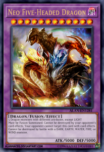 Lá bài Five-Headed Dragon