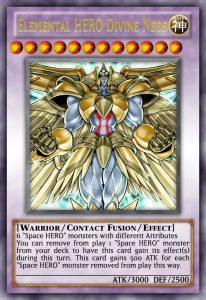 Lá bài Elemental HERO Divine Neos