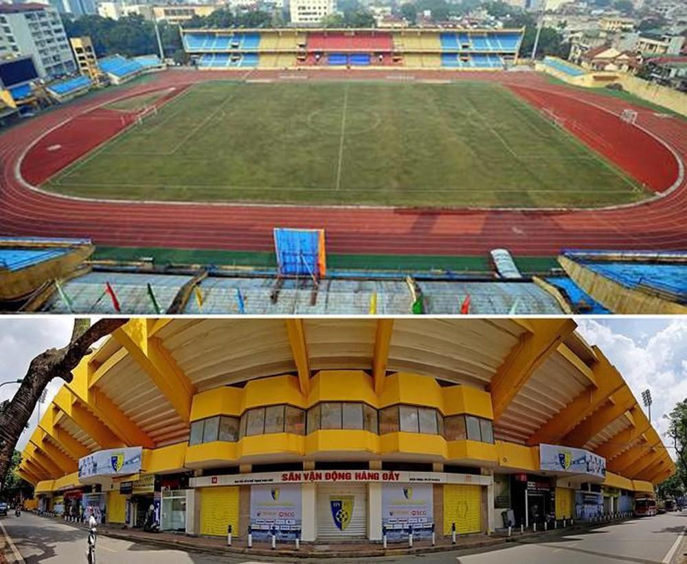 Hiện sân Hàng Đẫy đang nằm tại quận Hoàng Mai