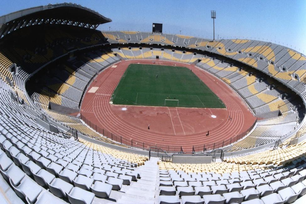 Sân vận động Borg El Arab Stadium tại Ai Cập