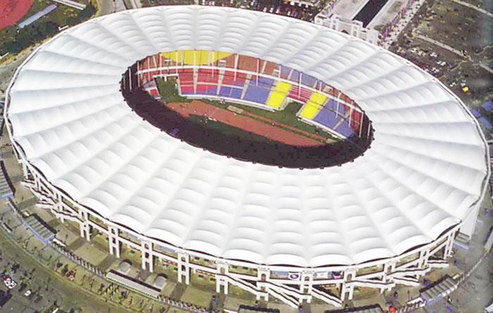 Sân vận động Bukit Jalil National Stadium tại Malaysia