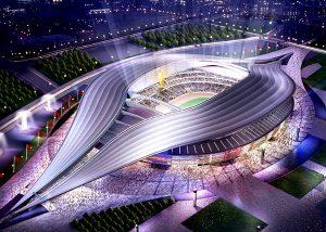 Vẻ đẹp của sân vận động Tổ Chim khiến ai cũng phải ngỡ ngàng