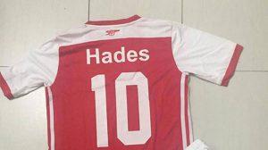 Đặt tên áo bóng đá theo tên các vị thần