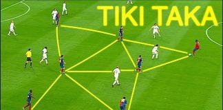 Giới thiệu chiến thuật Tiki Taka