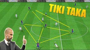Barca chính là bậc thầy của chiến thuật Tiki Taka