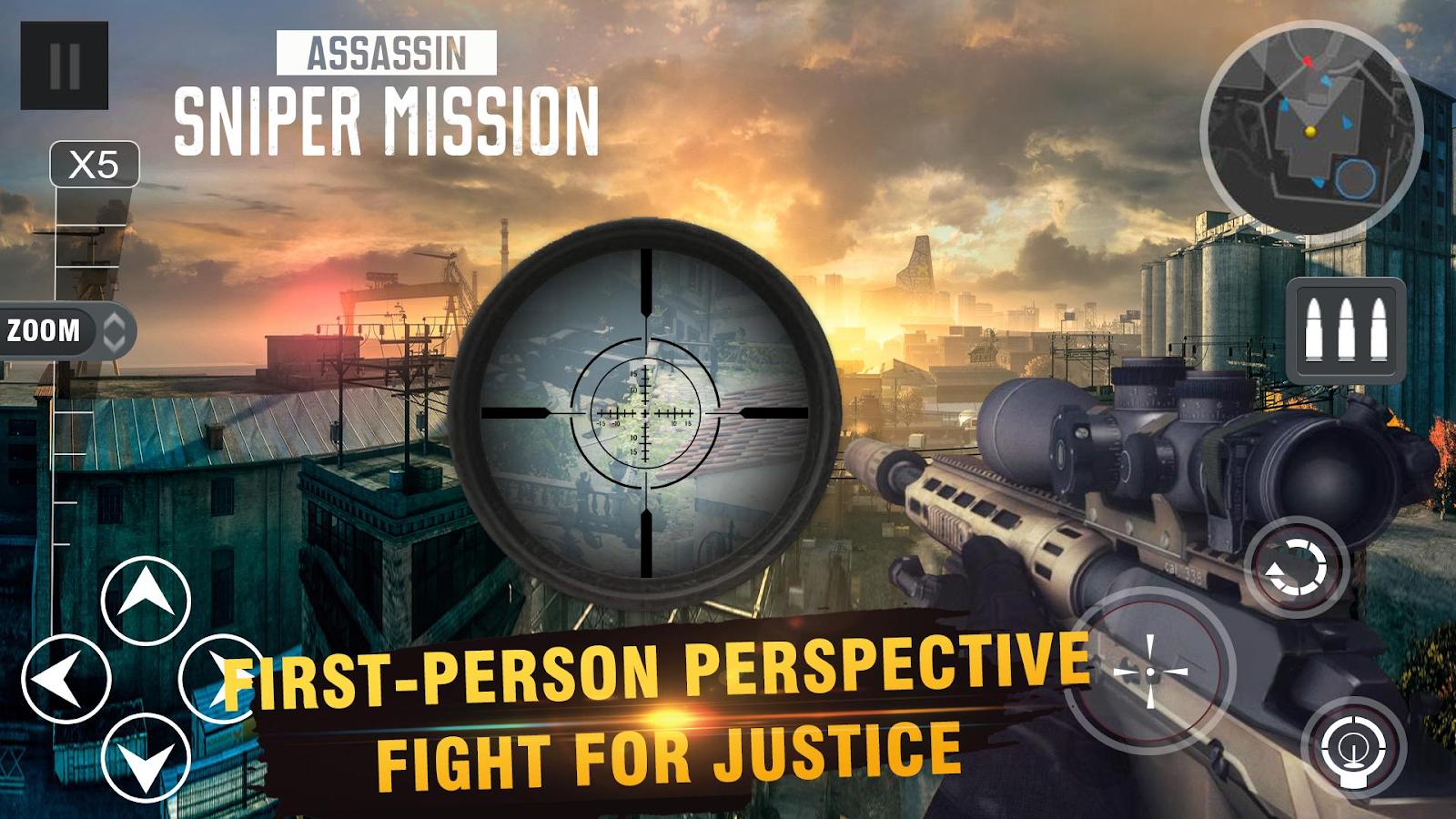 Bắn tỉa cùng Sniper Mission