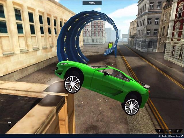 Game đua xe thành phố City Stunts