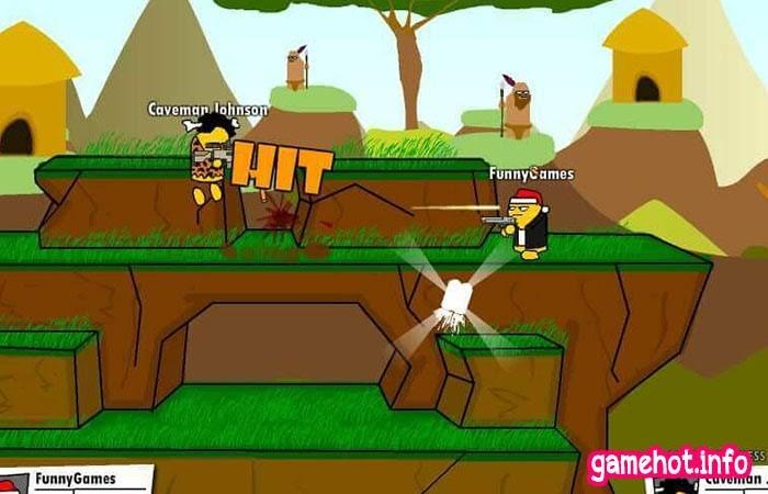 Game Gun Mayhem bắn súng cho 2 -4 người