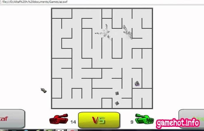 Game AZ bắn xe tăng cho 3 người