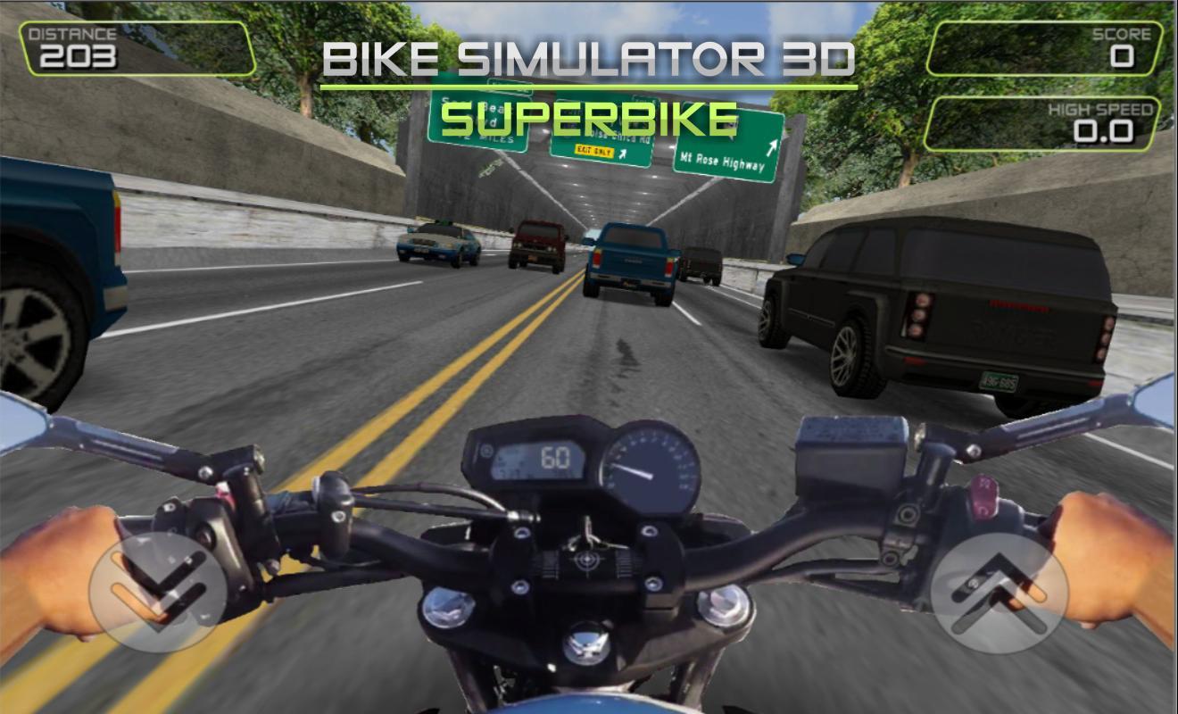 Game Bike Simulator 3D: SuperMoto II