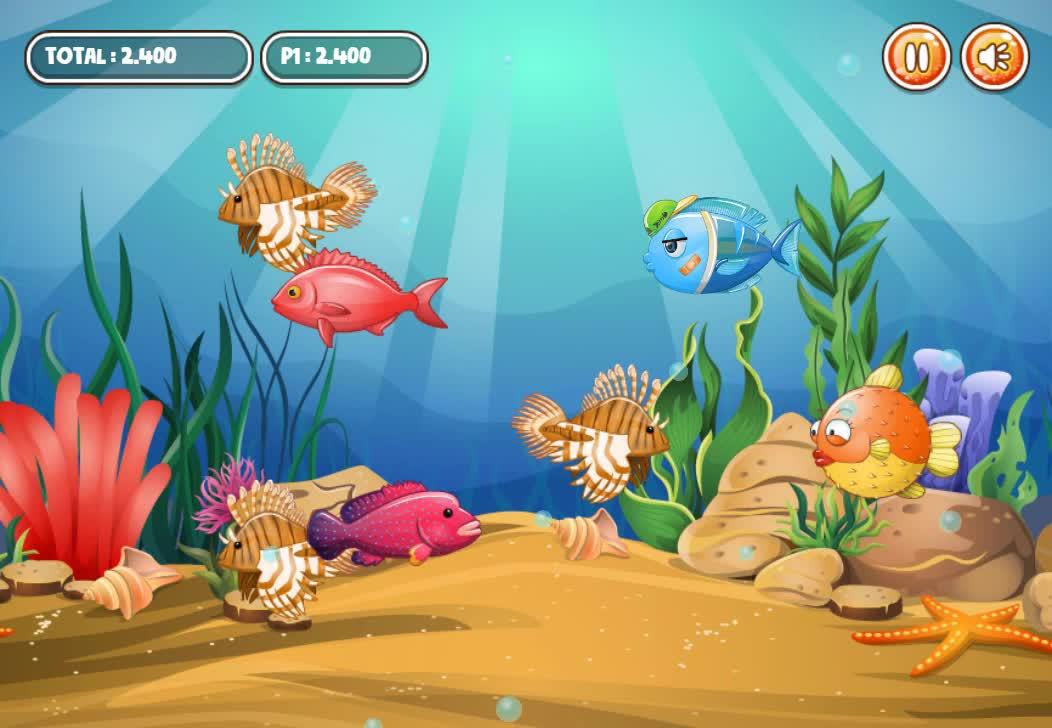 Game Fish Eat Fish 3 Players