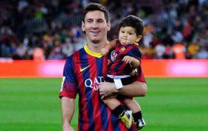 Thiago Messi - Cậu con trai nhỏ của Messi