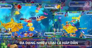 Có rất nhiều cổng game cung cấp trò chơi bắn cá Dragon Fishing 2