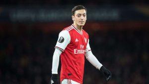 Mesut Özil là chân sút siêu sao trong Arsenal đội hình 2019/20