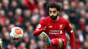 Tiền đạo Mohamed Salah