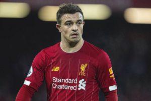 Xherdan Shaqiri cũng là cái tên nổi bật trong đội hình CLB Liverpool
