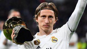 Luka Modric luôn là cái tên sáng giá trong đội hình Real