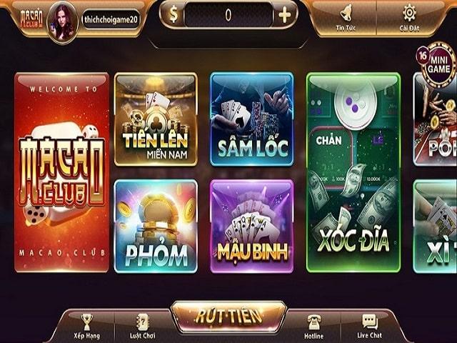Nhiều trò chơi hấp dẫn tại MacauVip đang chờ bạn khám phá