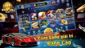 Rank Vip net có hệ thống game cực đa dạng