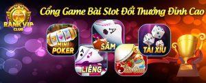 Rankvip - Cổng game bài slot đổi thưởng hấp dẫn