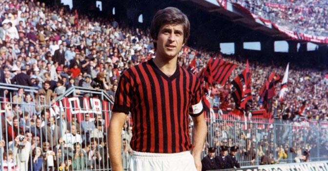 Nhắc tới AC Milan đội hình không thể thiếu Gianni Rivera