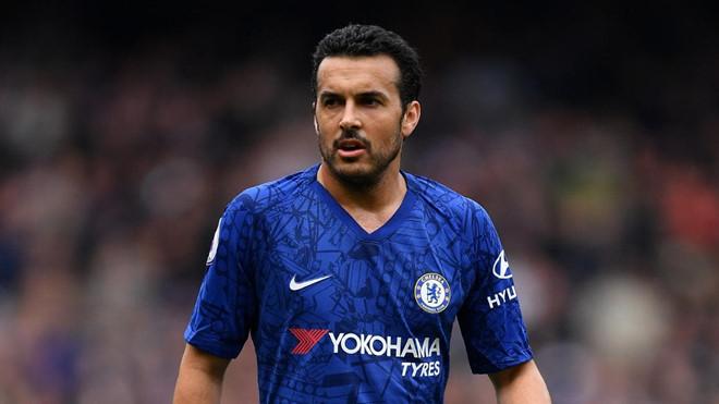 Tiền đạo Pedro của CLB Chelsea