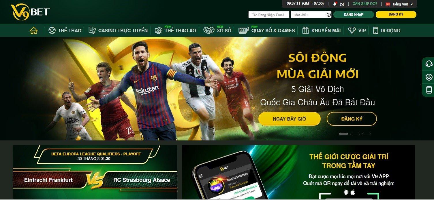 Web cá độ bóng đá qua mạng - V9bet