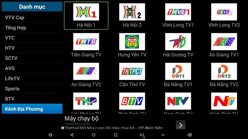 Theo dõi K+ trên phần mềm FlyTV cực sống động, sắc nét
