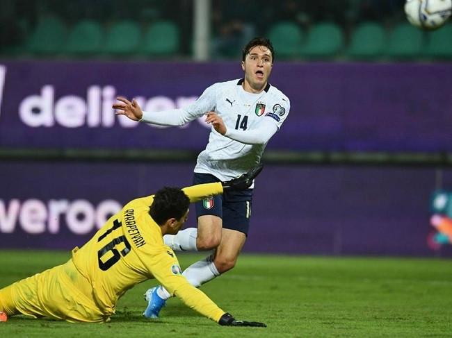 Trận thi đấu giữa Thổ Nhĩ Kỳ và Italia khó có thể phân thắng bại