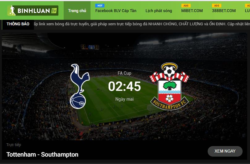 Các link xem bóng đá được cập nhật sớm, nhanh chóng