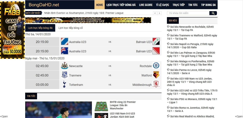 Website trở thành địa chỉ đáng tin cậy của những người yêu bóng đá