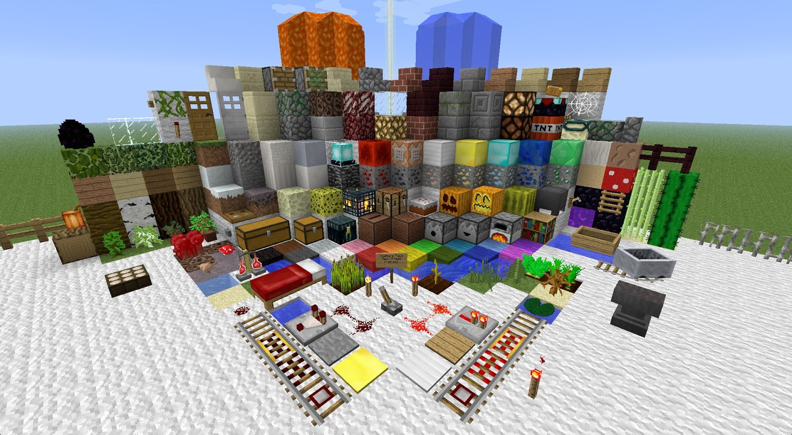 Giảm lag Minecraft với Resource Pack