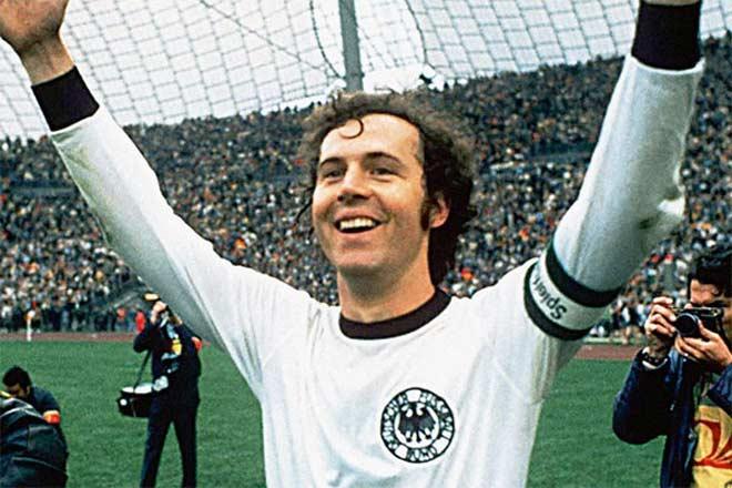 Franz Beckenbauer có sự nghiệp sân cỏ rực rỡ